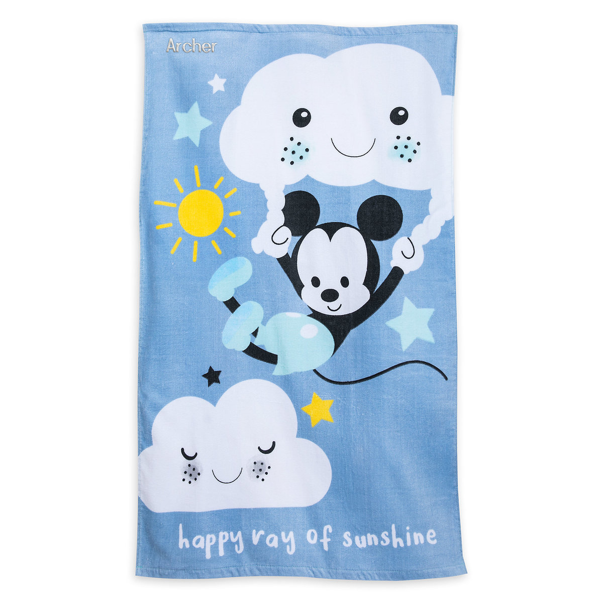Mickey Mouse Swim Towel for Baby - Personalizable   shopDisney