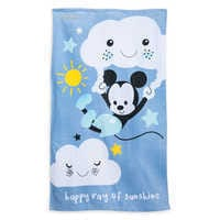 Image of Mickey Mouse Swim Towel for Baby - Personalizable # 1
