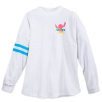 Image of Stitch ''Living in Paradise'' Spirit Jersey for Adults # 1