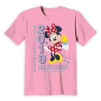 Image of Minnie Mouse Family Vacation T-Shirt for Kids - Walt Disney World 2019 - Customized # 4