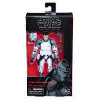 Image of Clone Commander Wolffe Action Figure - Star Wars: The Clone Wars - The Black Series # 8