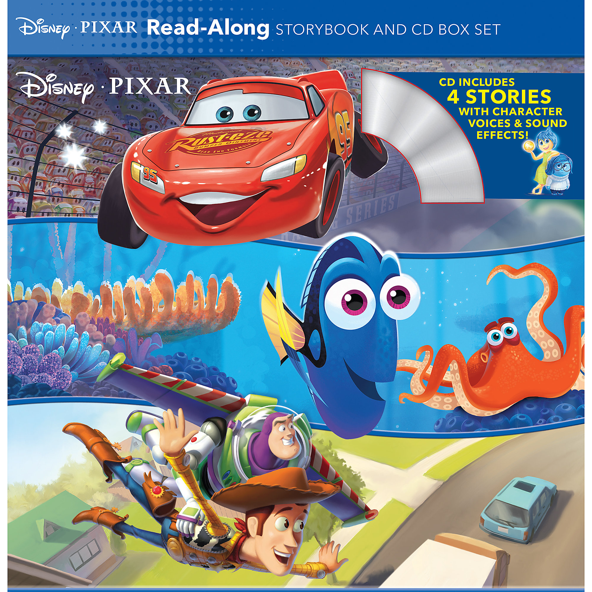 Disney•PIXAR Read-Along Storybook and CD Box Set