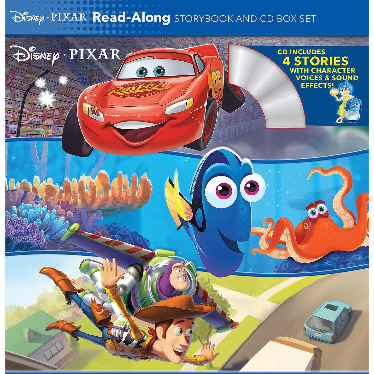disney pixar read along storybook and cd box set shopdisney