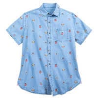 Image of The Lion King Chambray Shirt for Men # 1