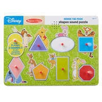 Image of Winnie the Pooh Shapes Sound Puzzle by Melissa & Doug # 2
