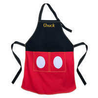 Image of Mickey Mouse Apron for Adults - Personalizable # 1