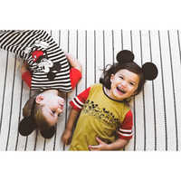 Image of Mickey Mouse Through the Years Romper for Baby and Kids by Rags # 4