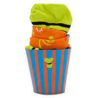 Image of Goofy Cupcake Socks for Kids # 3
