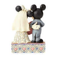 Image of Mickey and Minnie Mouse ''Two Souls, One Heart'' Figure by Jim Shore # 2