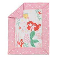 Image of Ariel's Grotto Crib Bedding Set by Lambs & Ivy - The Little Mermaid # 4