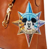 Image of Mickey Mouse Leather Bucket Tote by Dooney & Bourke - Walt Disney World # 3