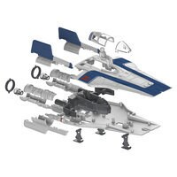 Image of Resistance A-Wing Fighter Model Kit - Star Wars: The Last Jedi # 2