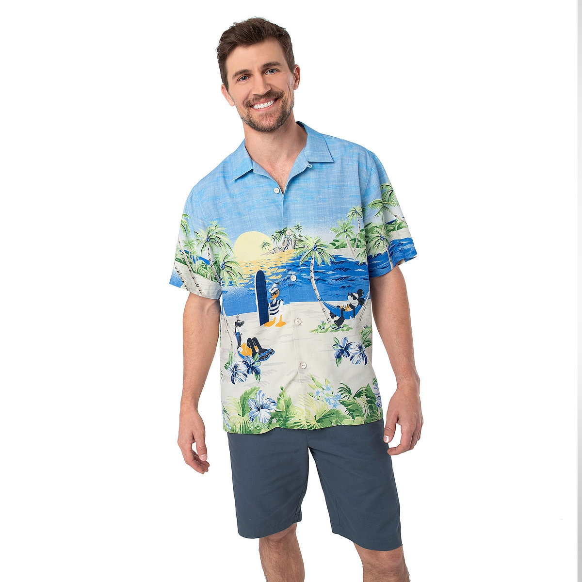 d9f70b96 Mickey Mouse and Friends Silk Shirt for Men by Tommy Bahama | shopDisney