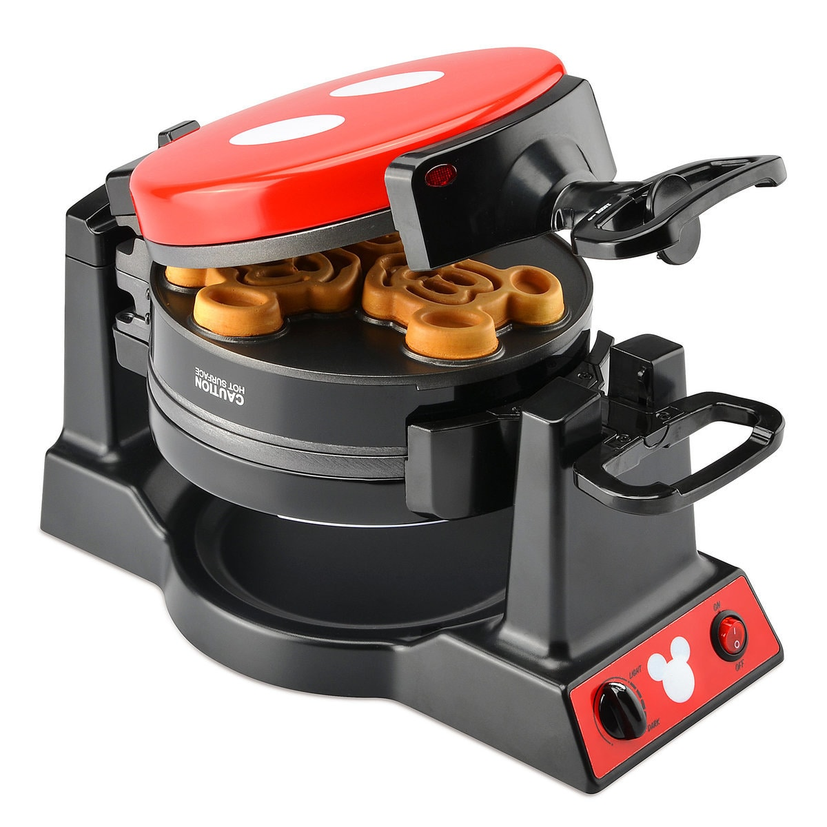 Mickey Mouse 90th Anniversary Double Flip Waffle Maker Shopdisney