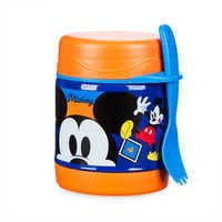 Image of Mickey Mouse Hot and Cold Food Container # 3