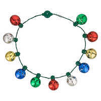 Image of Mickey Mouse Jingle Bell Light-Up Necklace # 1