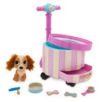 Image of Lady Pet Carrier Playset - Disney Furrytale friends # 1