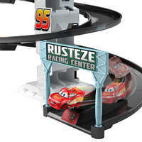 Image of Cars Rust-Eze Spinning Raceway Playset # 4