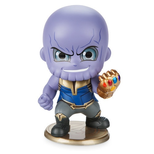 Thanos Cosbaby Bobble Head Figure By Hot Toys Marvel S
