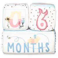 Image of Winnie the Pooh Plush Milestone Blocks for Baby # 2