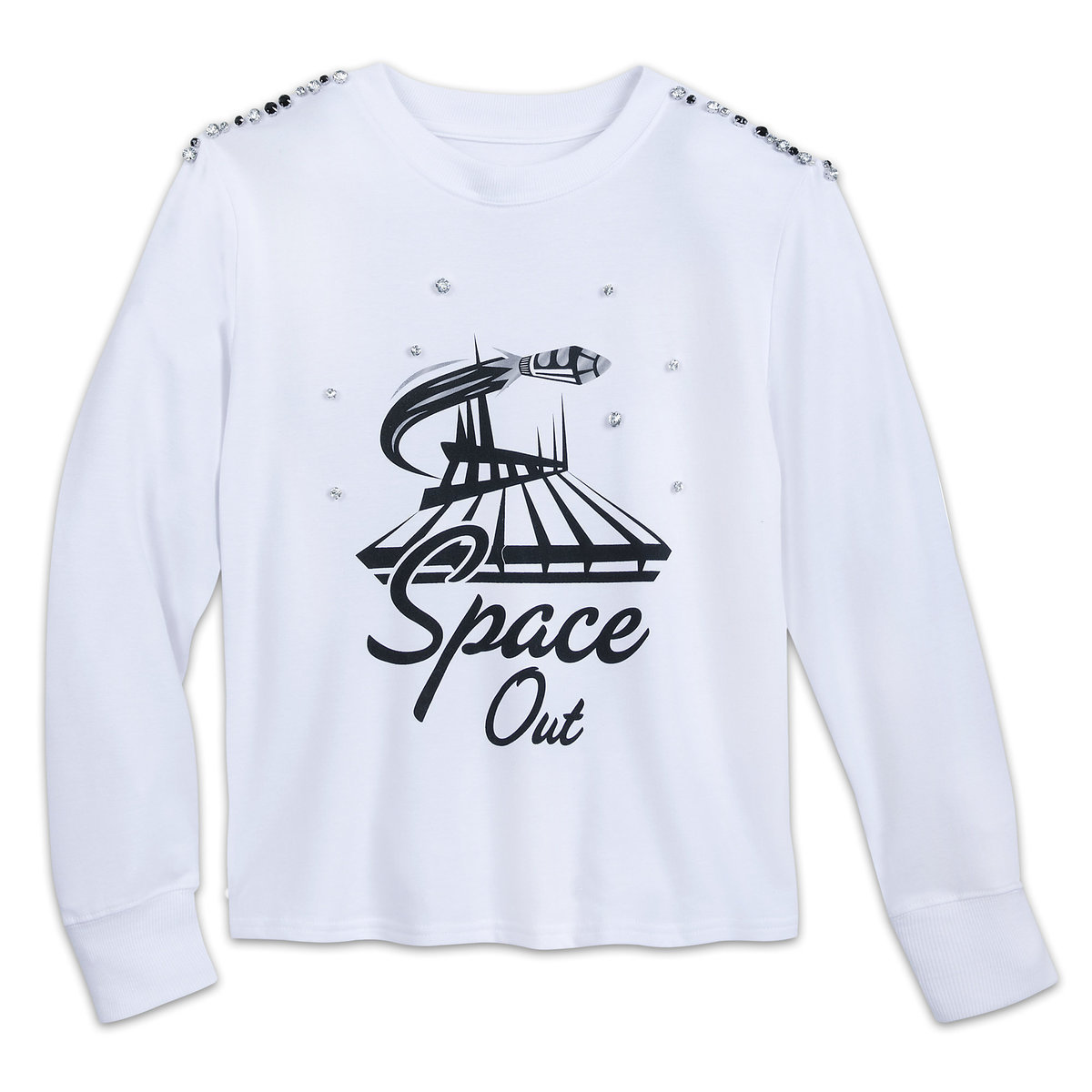 a06d1e9efed Product Image of Space Mountain Long Sleeve Fashion T-Shirt for Women   1