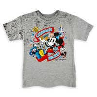 Image of Mickey Mouse ''Celebrate'' T-Shirt for Boys - Walt Disney World # 1