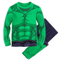 Image of Hulk Costume PJ PALS for Boys # 1