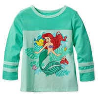 Image of Ariel Long Sleeve T-Shirt for Girls # 1