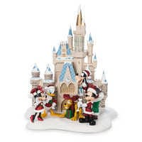 Image of Mickey Mouse and Friends at Cinderella Castle Holiday Figure - Walt Disney World # 1