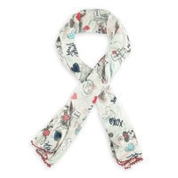 Mickey and Minnie Mouse Sweethearts Scarf