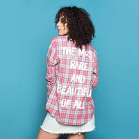 Image of Mulan Flannel Shirt for Adults by Cakeworthy # 8