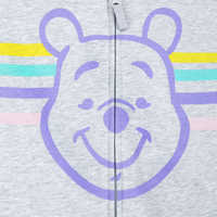 Image of Winnie the Pooh Zip-Up Hoodie for Adults - Personalized # 3