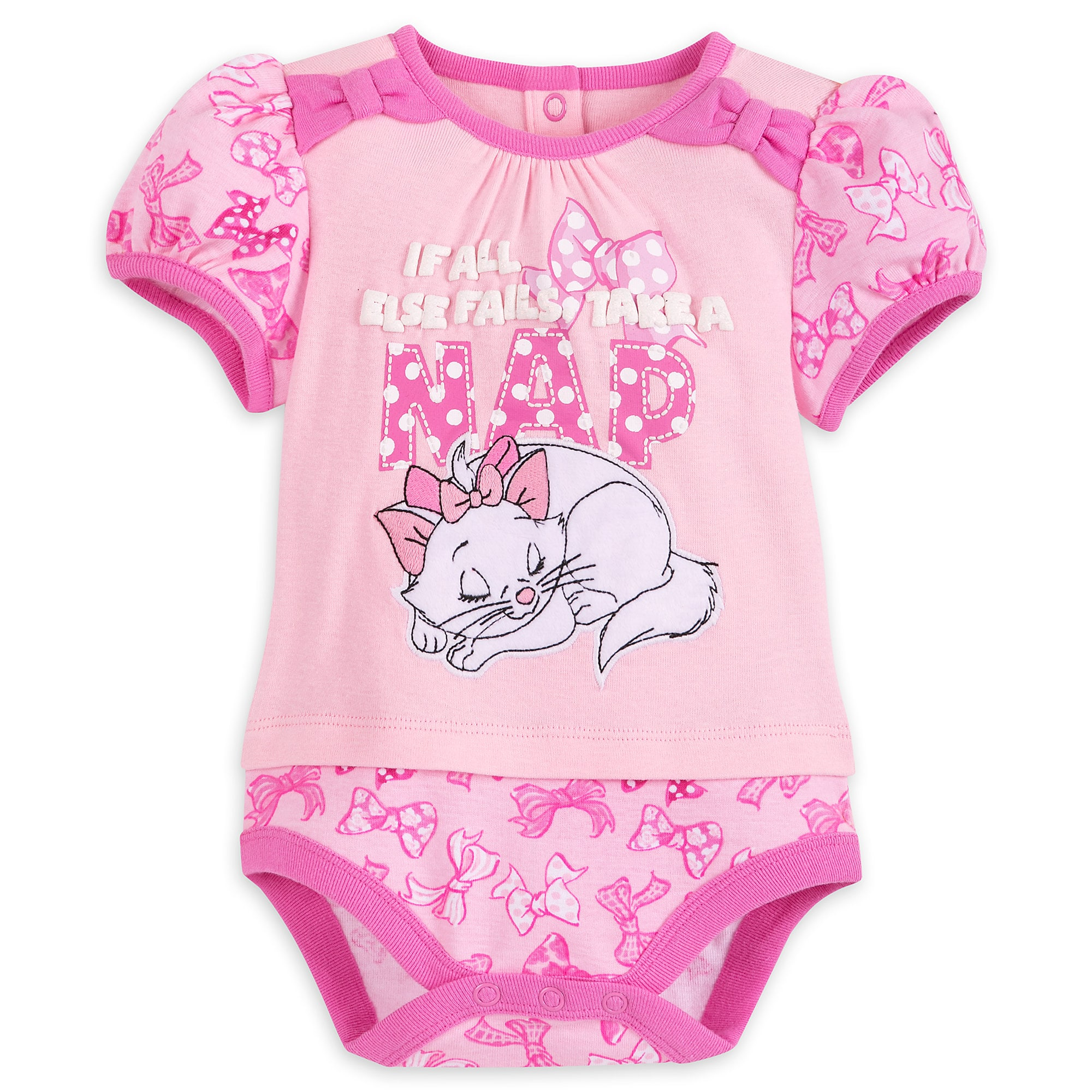 Marie Disney Cuddly Bodysuit for Baby The Aristocats