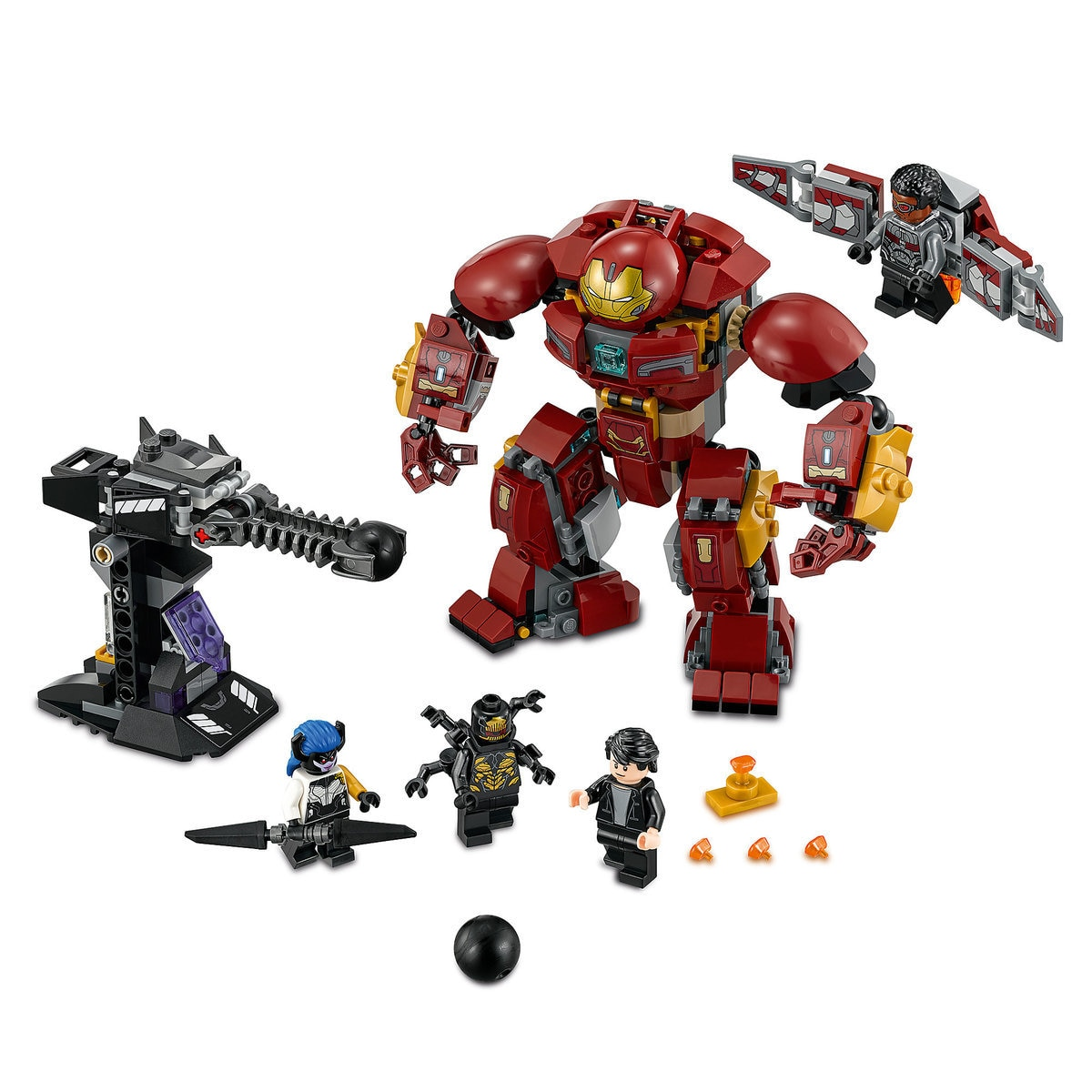 the hulkbuster smash up playset by lego marvel s avengers