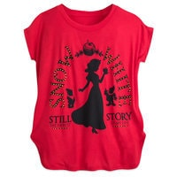 Snow White Silhouette T-Shirt for Women