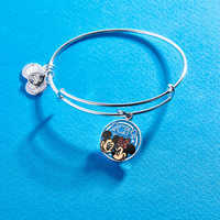 Image of Mickey and Minnie Mouse Bangle by Alex and Ani - Disney Parks 2019 # 2