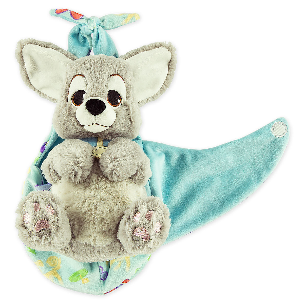 Scamp Plush With Blanket Pouch Disney S Babies Small Shopdisney
