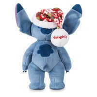 Image of Stitch Poseable Plush and ''Holiday Mischief with Stitch'' Book Set # 4