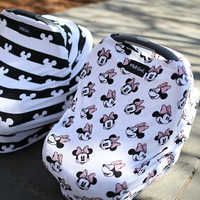 Image of Minnie Mouse Baby Seat Cover by Milk Snob # 4