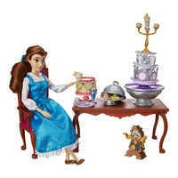 Image of Belle Classic Doll Dinner Party Play Set - Beauty and the Beast # 1