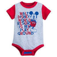 Image of Mickey Mouse Walt Disney World Bodysuit for Baby # 1