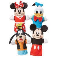 Image of Mickey Mouse and Friends Soft and Cuddly Hand Puppets by Melissa & Doug # 1