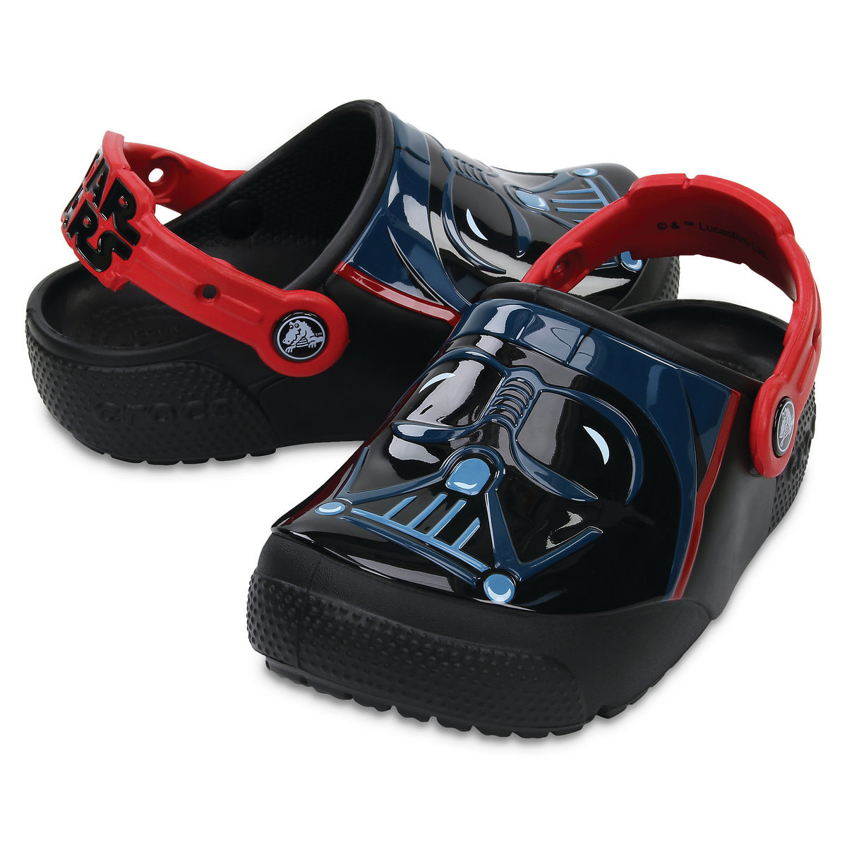 1d28acbbab Product Image of Darth Vader Crocs™ Light-Up Clogs for Boys   1