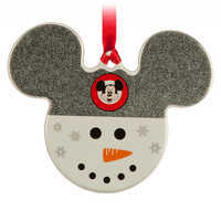 Image of Mickey Icon Ornament - Snowman # 1