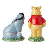 Image of Winnie the Pooh and Eeyore Salt and Pepper Set # 2