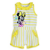 Image of Minnie Mouse Romper Cover-Up for Baby # 1