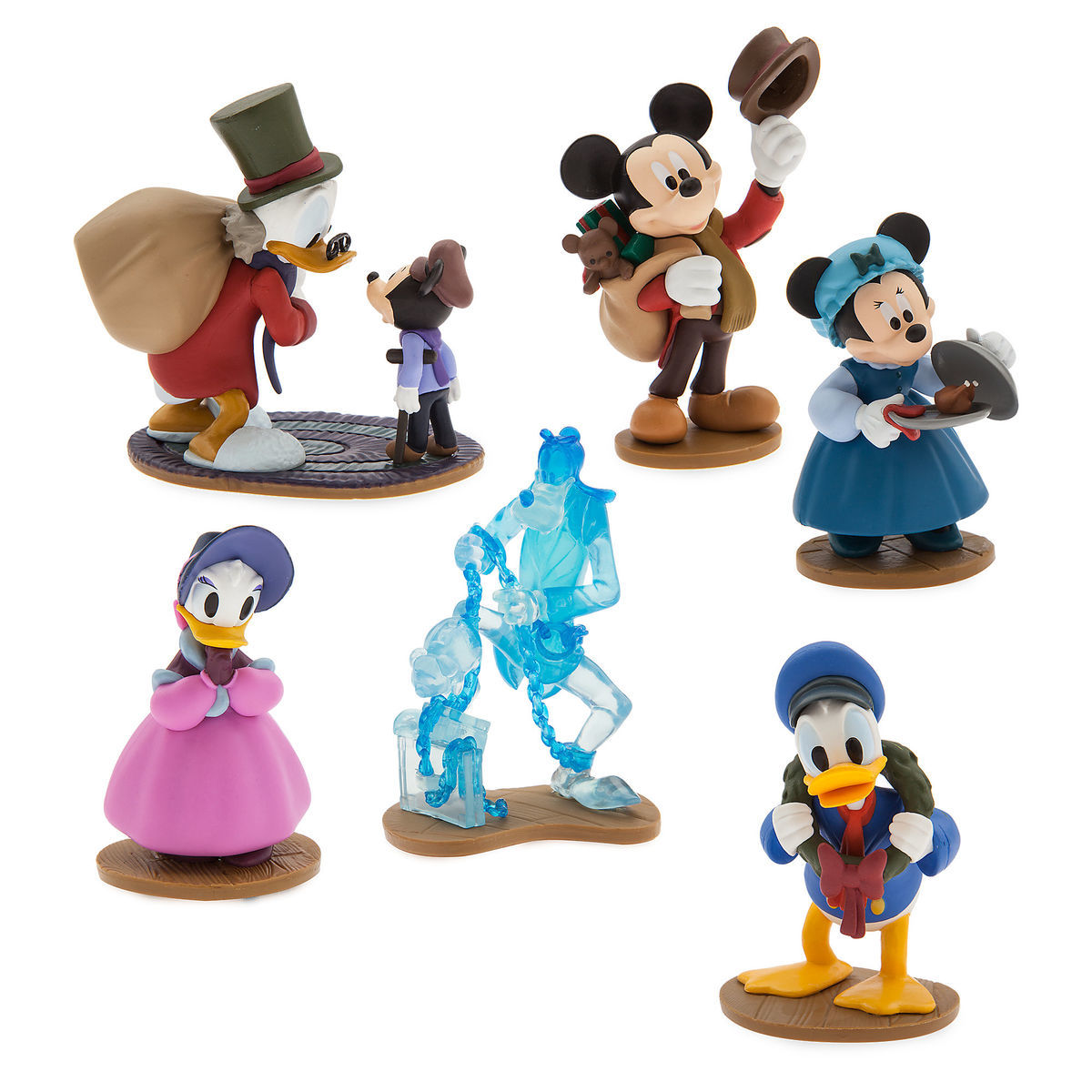 product image of mickeys christmas carol figure play set 1 - Mickeys Christmas Carol