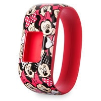 Image of Minnie Mouse Garmin vivofit jr. 2 Accessory Stretchy Band # 2