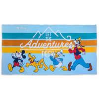 디즈니 비치타올 미키 마우스와 친구들 Disney Mickey Mouse and Friends Beach Towel - Personalizable