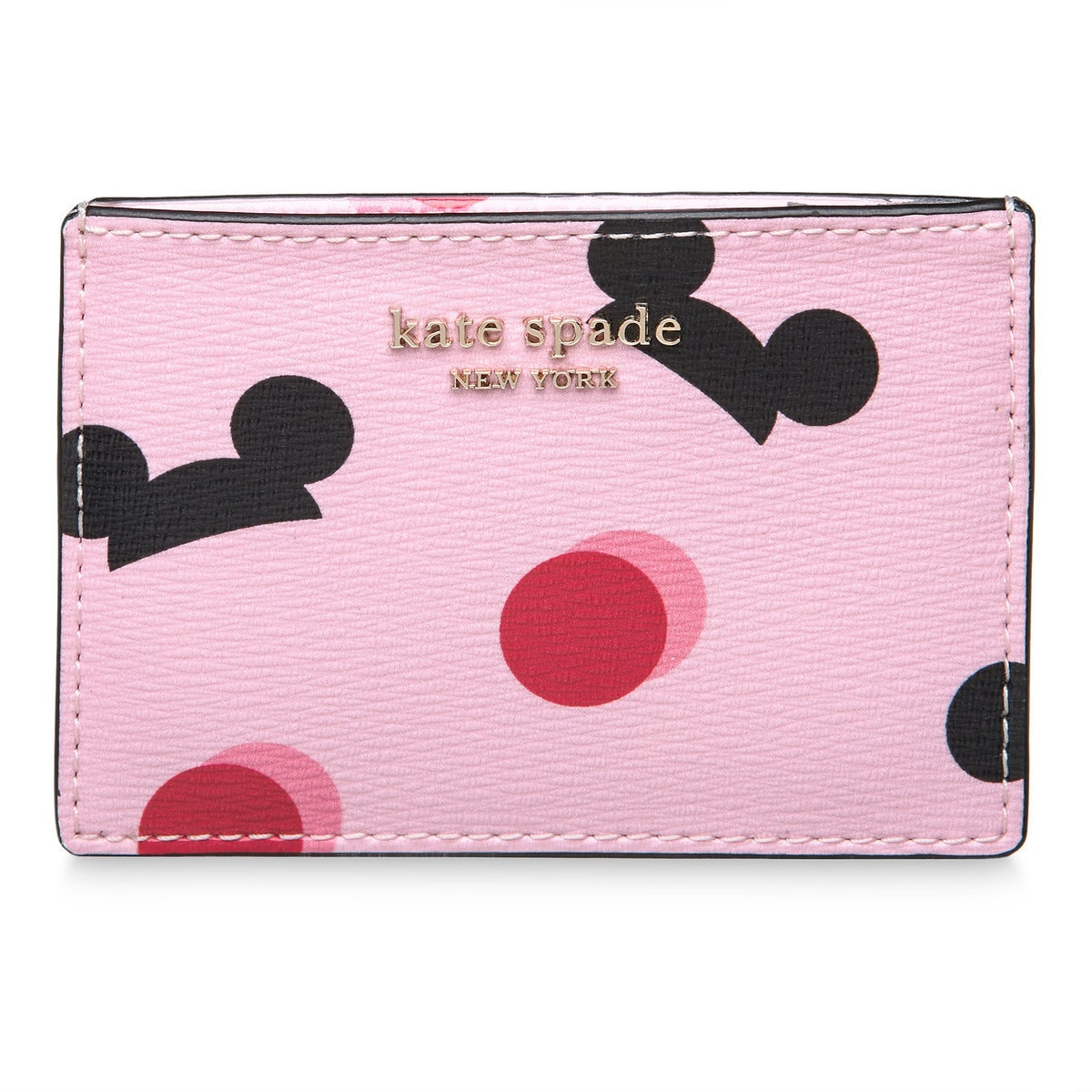 super popular 370ff 9faf3 Mickey Mouse Ear Hat Credit Card Case by kate spade new york - Pink